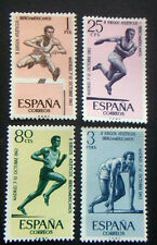 Sellos de España - 1962 juegos Atlético Madrid en condición de menta conjunto de 4