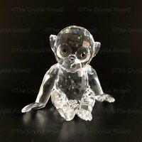 RARE Retired Swarovski Crystal Chimpanzee Chimp 221625 Mint Boxed Monkey Ape