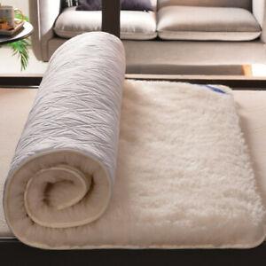 2021 winter plush mattress 1.8m thick lamb wool single and double household