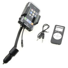 FM Transmitter + Car Charger+ Remote for iPhone 4G 3GS 3G iPod Touch MP3