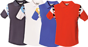 New Mens Polo Shirts T-Shirts Short Sleeve T Pique Summer Tee Casual Top Outdoor
