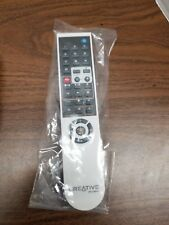 CREATIVE RM-1000W  Remote Control w/Battery Cover. Sealed in bag