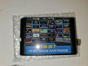 Sega Genesis & Mega Drive - 196 in 1 Multi Game Cartridge Sega Mega Drive