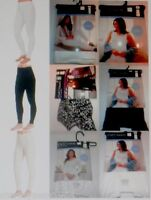 Ladies CUDDL DUDS Thermal Long Underwear S M L XL White Black Shirt Legging