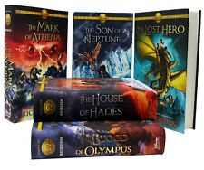 The Heroes of Olympus Collection 5 Books Set Collection by Rick Riordan Hardback