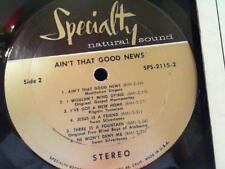 Various Aint That Good News 1969 Specialty Records SPS 2115 Gospel