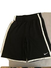 Nike Dri Fit Youth Black Size L Basketball Shorts With Pockets