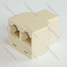 3 Port Rj45 LAN Ethernet Network Connector Splitter