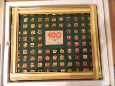 COCA-COLA's 1986 - 100th  ANNIVERSARY PIN SET - NEW IN BOX, IN ORIGINAL WRAPPING