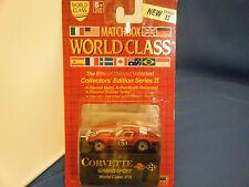 """Matchbox World Class Edition Series II Corvette Grand Sport #16 1989 """"BRAND NEW"""""""