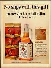 1965 Vintage ad for Jim Beam Kentucky Straight Bourbon Whisky (020113)