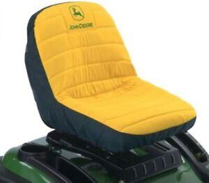 """John Deere Original Lawn Mower or Gator 15"""" Seat Cover Medium LP92324"""