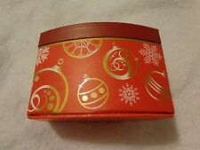 Christmas Gift Box Red Ornaments Ghirardelli