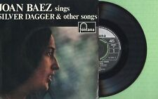 JOAN BAEZ / Silver Dagger / FONTANA TFE 18.005 Press England 1960 EP 45 EX