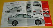 1998 1999 Mitsubishi Lancer Evolution V 1997cc 276 hp Turbo IMP info/Specs/photo