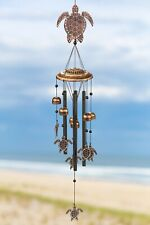 New listing Vp Home Sea Turtles Outdoor Garden Decor Wind Chime (Rustic Copper)