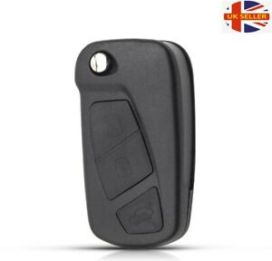 REPLACEMENT 3 BUTTON FLIP KEY CASE FOR FORD KA MK2 REMOTE FOB  2008 - 2016