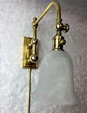 Visual Comfort & Co. Pimlico Polished Brass Adjustable Single-Light Wall Sconce
