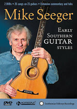 Mike Seeger: Early Southern Guitar Styles (2 Dvd Set) Guitar