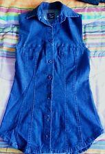 Lotto 302 camicia donna jeans TG. S