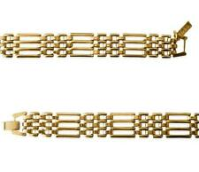 Unbranded Yellow Gold Plated Chain/Link Costume Bracelets