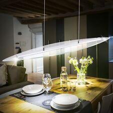 LED 20W LUXUS Decken Hänge Leuchte Wohnzimmer Glas Lampe Esszimmer Pendel Licht