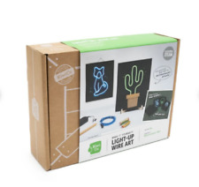 NEW KiwiCo Light-Up Wire Art Ages 9+