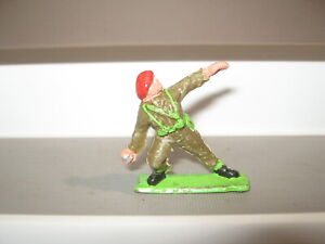 Rocco vintage plastic British red beret very good paint condition real rare now