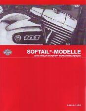 Harley-Davidson Reparaturhandbuch 2016 Softail Modelle deutsch OEM 99482-16de
