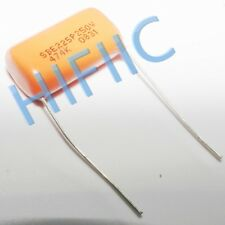 2PCS Sprague Orange Drop capacitor SBE 225P 0.47UF 250V 474K
