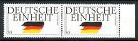 Bund MiNr. 1477 II Bogenrand postfrisch MNH Plattenfehler im waag. Paar (Z5140