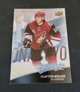 2017-18 Upper Deck MVP #248 Clayton Keller RC