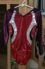 "Underarmour by GK  3/4 Bling  gymnastics leotard    Shoulder to Crotch 21"" CM?"