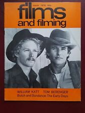 Films and Filming March 1979 Movie Magazine, William Katt, Tom Berenger #B1418