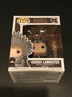 FUNKO POP GAME OF THRONES CERSEI LANNISTER IRON THRONE DELUXE 73