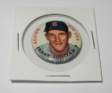 1956 Topps Baseball Pin Button Coin Pinback Frank Sullivan Boston Red Sox v2