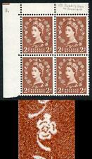 S38B 2d Light Red Brown wmk St Edward Crown Rabbits Ear 1/2 U/M (ebay 3)