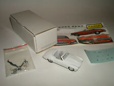 1:43 Kit Resin PROVENCE MOULAGE Edition KAGER Mercedes 190SL Roadster