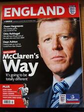 16/08/2006 England v Greece [At Manchester United]  (Item Has No Apparent Faults