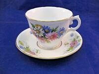 CROWNFORD TEA CUP AND OLD ROYAL SAUCER - THEY LOOK WELL TOGETHER