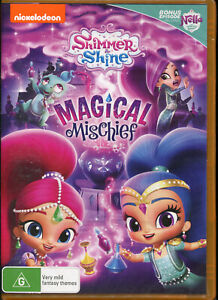 Nickelodeon Shimmer and Shine Magical Mischief DVD NEW Region 4