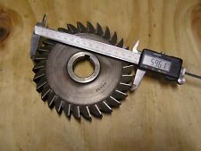 """New listing Utd 6"""" x 1"""" x 1-1/4"""" Hhs Mill Slot Cutter Slitting Saw 30 Tooth"""