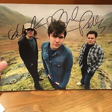 Scouting for Girls hand signed autograph A4 photo IP