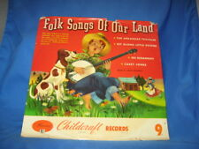 Jack Russell - 78rpm single 10-inch-FOLK SONGS OF OUR LAND