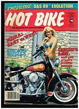HOT BIKE APRIL 1984 CUSTOM BIG BIKE STREET CHOPPERS DRAG KAWASAKI  '84 SPORTSTER