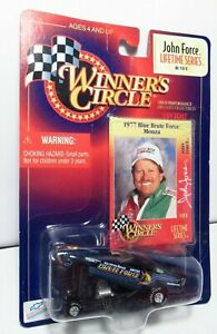 Winner's Circle John Force 1977 77 Chevy Blue Brute Force Monza Funny Car Drag