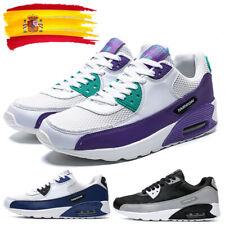 Zapatillas de deporte para hombre con cojín de deportivas deportivas para correr