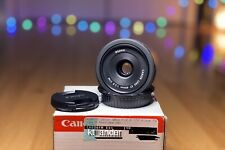 New listing Canon Ef 40 mm F/2.8 Ef Stm For Canon - Black