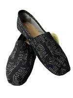 Toms Mens Classic Shoes Be The Change Size 12 Brand New 10001190