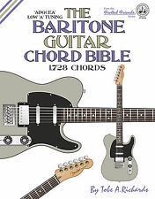 BARITONE GUITAR CHORD BIBLE - 1,728 CHORDS (NEW 2016 EDITION) - LOW A TUNING